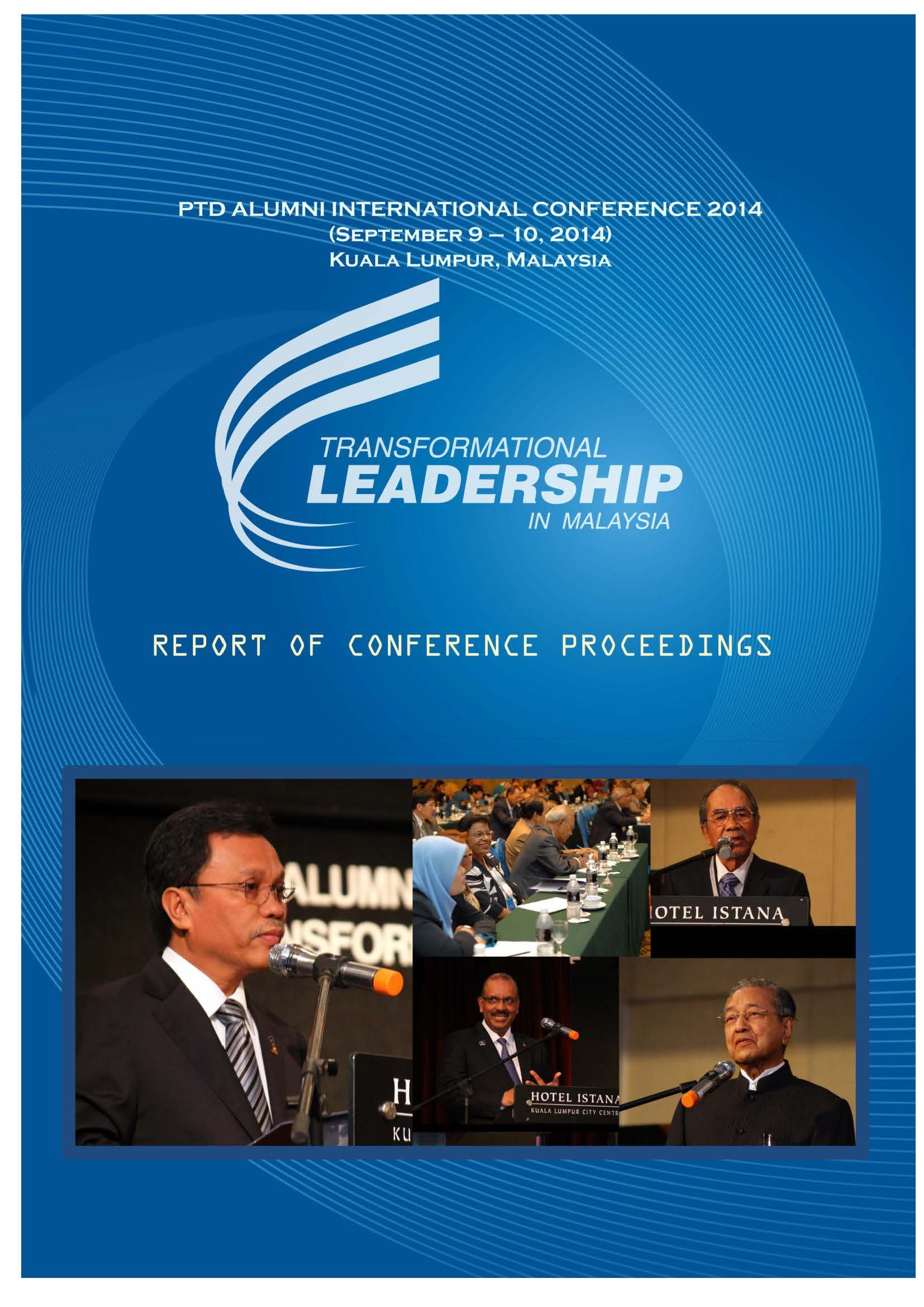 2014 Report on the PTD Alumni International Conference