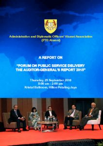 thumbnail of Final Report on Public Service Delivery – Auditor General's Report 2015