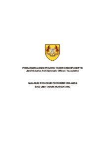 thumbnail of 2013 Forum Tertutup Alumni PTD – Halatuju Strategik Perkhidmatan Awam Bagi 5 Tahun Akan Datang