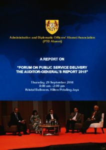 thumbnail of 2016 Laporan Forum on Public Service Delivery – The Auditor General's Report 2015