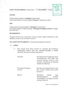 thumbnail of Surat Ikatan Amanah